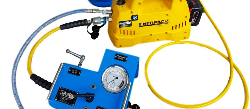 Enerpac heightens safety and flexibility of load testing tool