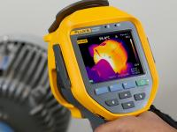 The new Fluke Ti480 thermal imager – rent it now from TechRentals
