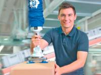 Schmalz vacuum tube lifter Jumbo - Move goods weighing up to 300 kg quickly and easily