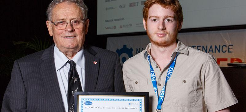 Bill Buckley awards scholarship to Ewen Baker