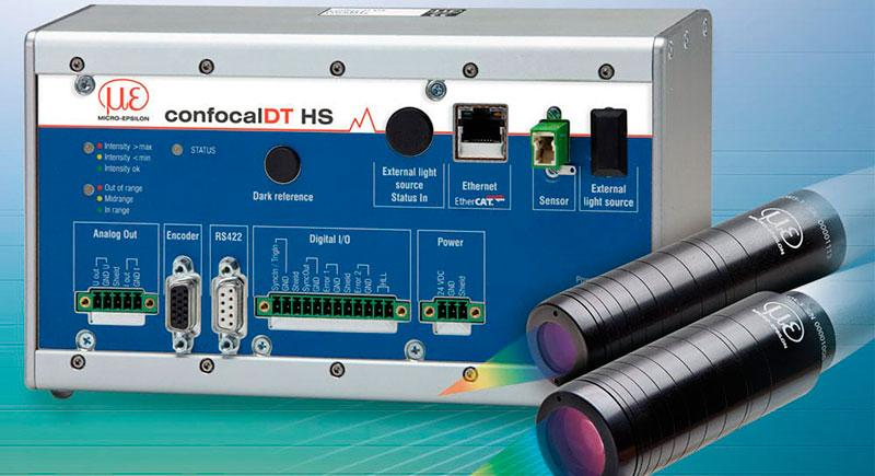 High-speed distance and thickness measurements