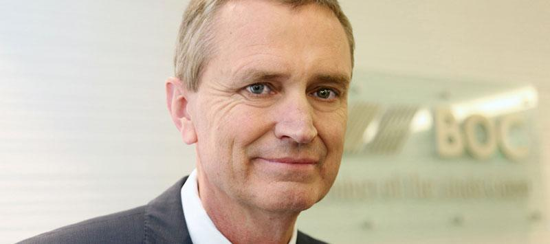 Leading gases and engineering company BOC today announced the appointment of John