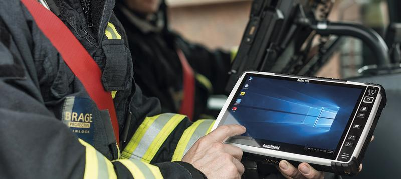 New version of the Algiz 10X ultra-rugged tablet