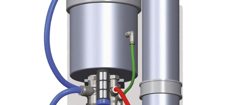 Pneumatic safety brakes withsame power as hydraulics